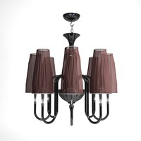 3d carlesso mush chandelier