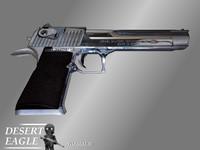 3d imi desert eagle pistol