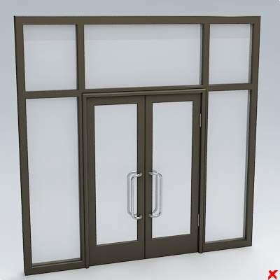 glass door 3ds