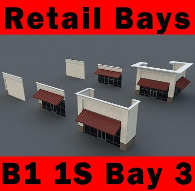 3d building b1 1s 1-story