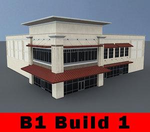 3d building b1 complete retail