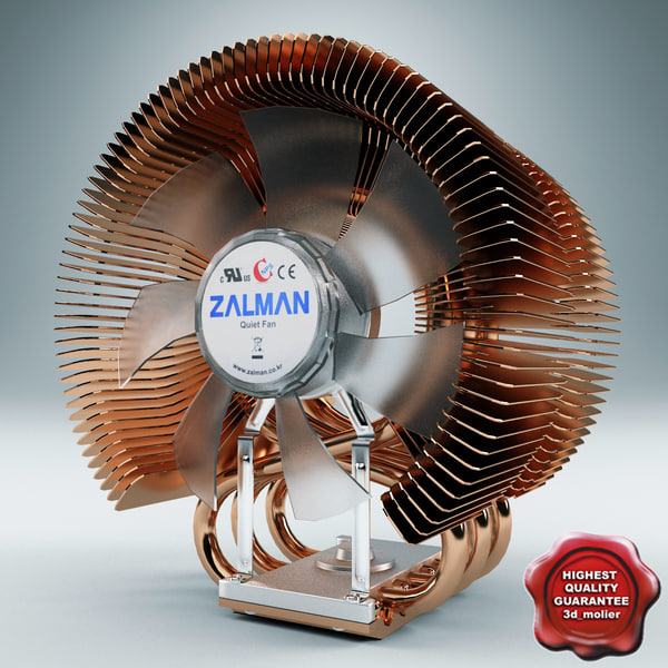 3d cpu cooler zalman model