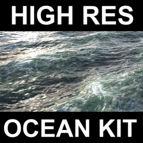 kit ocean animation 3d max