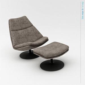 3d model geoffrey seats style