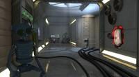 3d robot scene