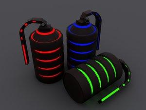 3d bombs model