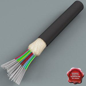 optical fiber c4d