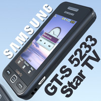 phone samsung gts5233 startv 3d model