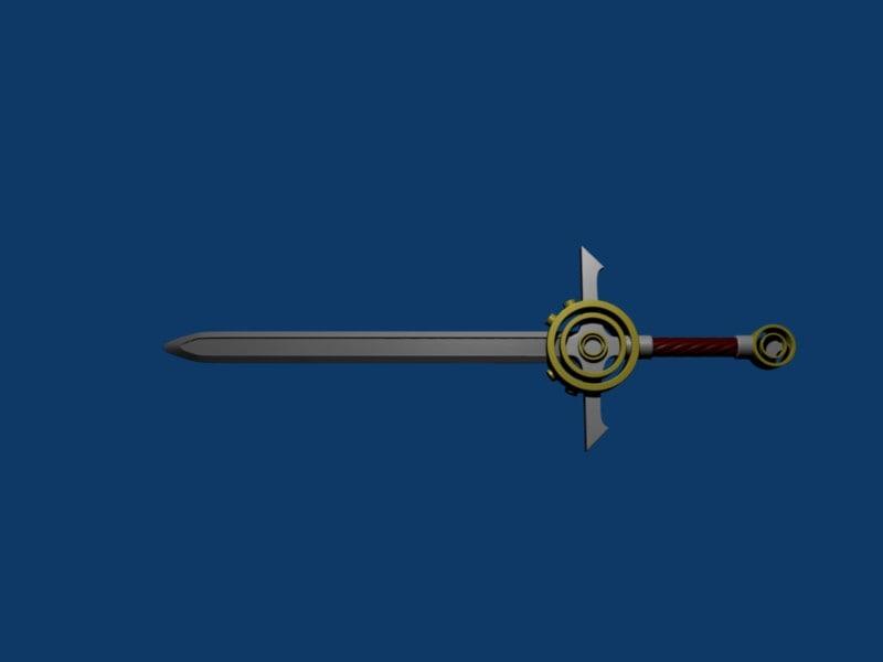 blender blender sword