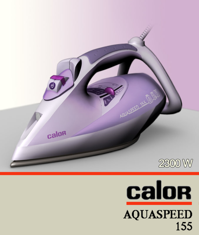 calor aquaspeed 3d model