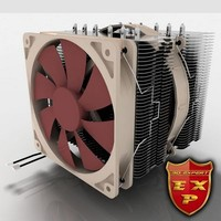 3d noctua cooler fan model