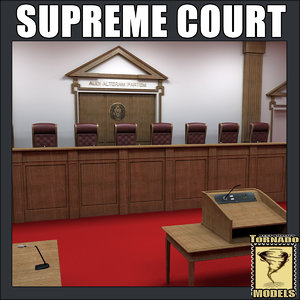 lightwave supreme court room -