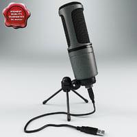maya usb condenser microphone