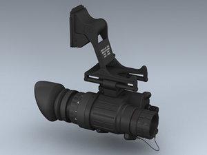 pvs-14 night vision 3d max