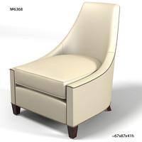 baker thomas pheasant 6368  bel air bel-air lounge chair modern contemporary armchair art deco