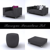 Baroque Furniture Set