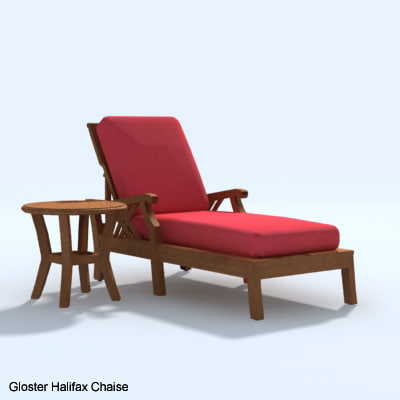 3d gloster halifax chaise