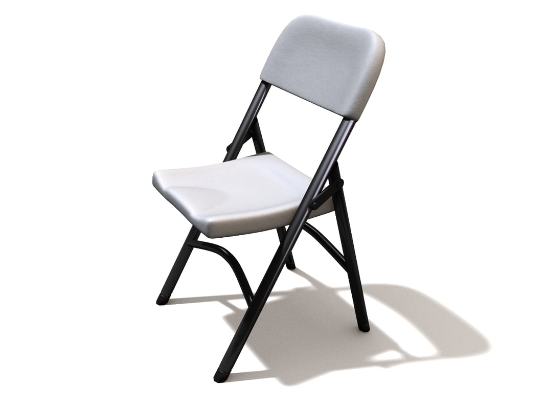 3d folding chair