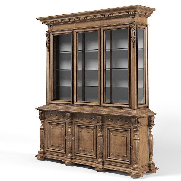 clásico buffet clásico aparador armario armario vitrina comedor