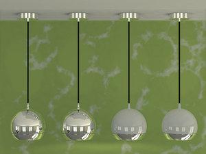 lighteye ceiling lamp light 3ds