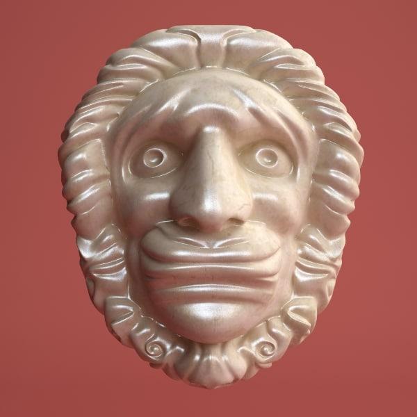 maya head element