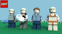 LEGO Lost Minifigure Pack 3