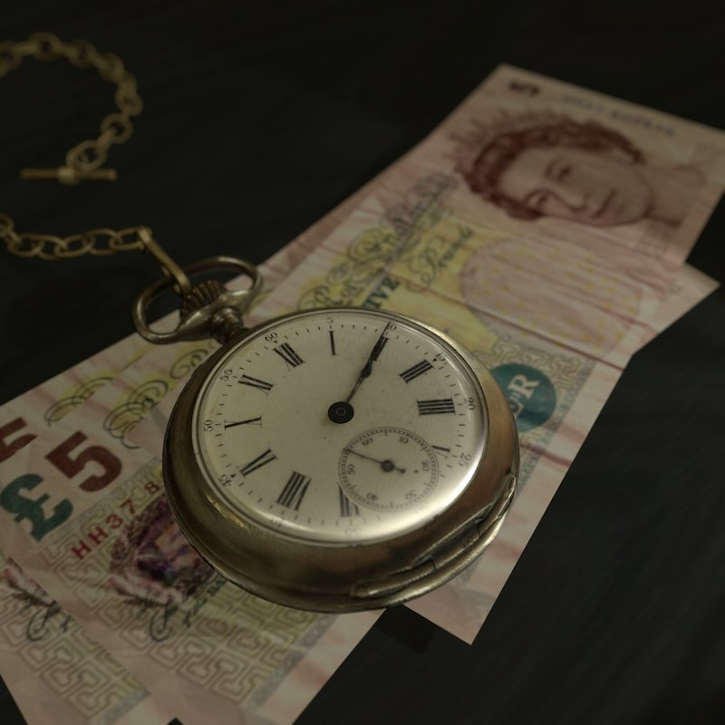 antique pocket watch 3d model