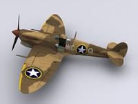 Spitfire Mk VB 4th FS USAF