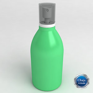 spray 3d obj
