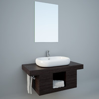 wall-hung wash-basin max