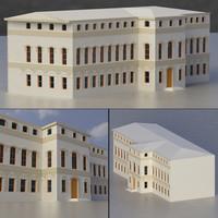 3d max building exterior multi purpose