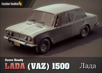 Lada (VAZ) 1500 (Next-Gen Game Ready)