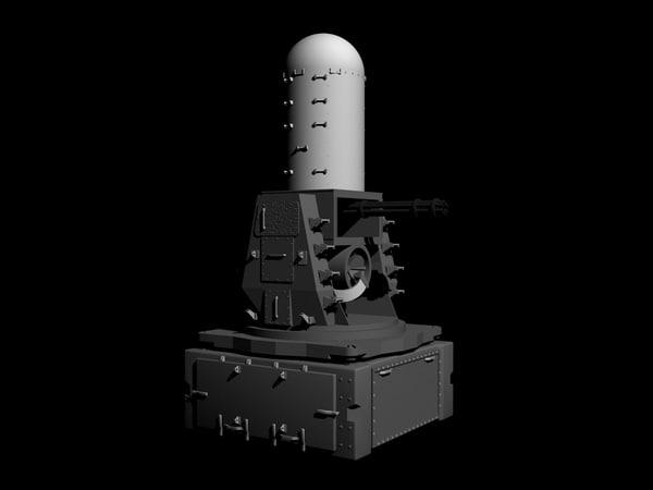 3d weapon phalanx model