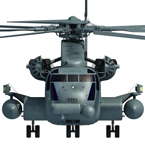 sikorsky ch-53e super stallion 3d 3ds