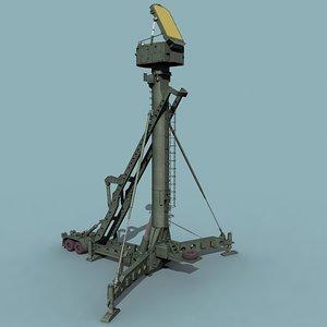 russian engagement radar sa-10 sa-20 3d max