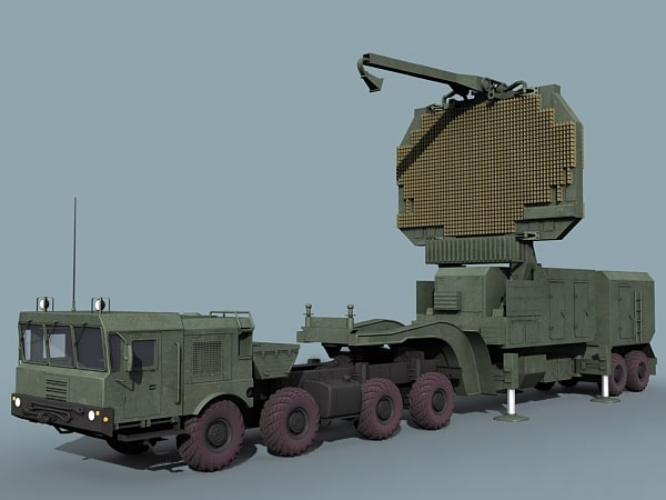3d 3ds russian 91n6e radar
