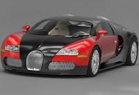 3d bugatti veyron