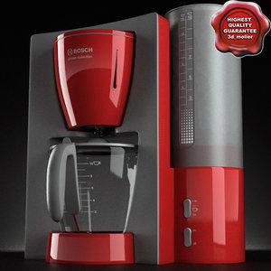 coffee maker bosch 3d model