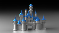 3ds disney cinderella castle logo