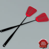 3d fly swatter