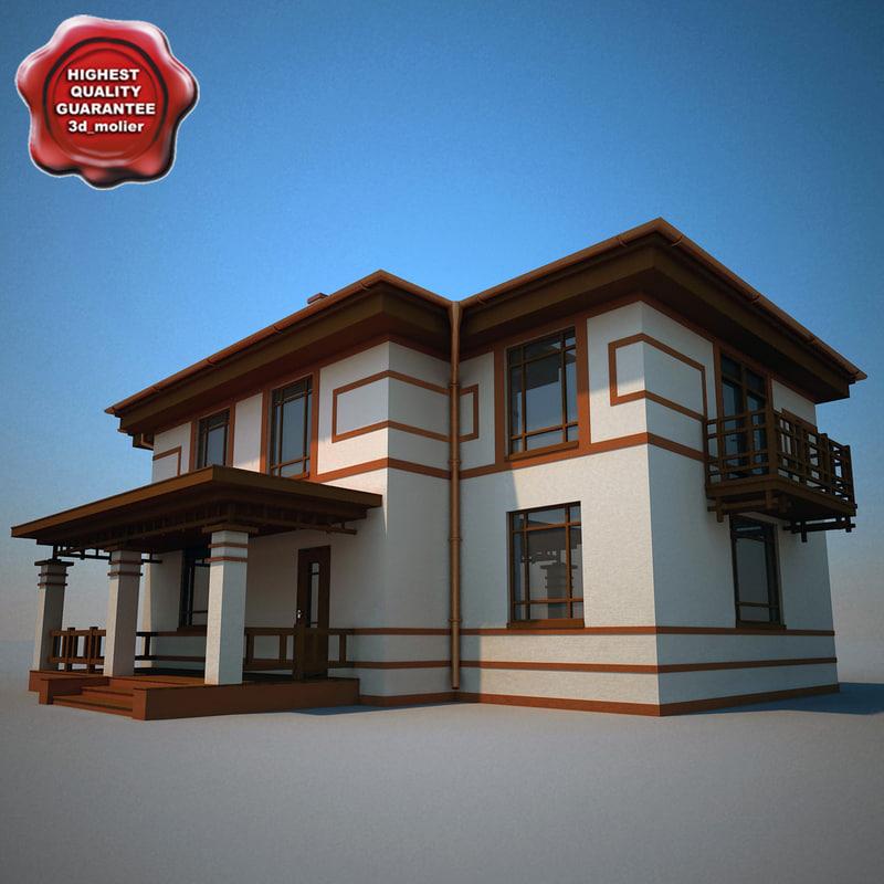 house 10 3d lwo