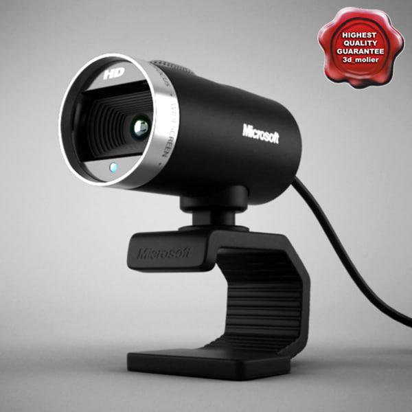 3d microsoft lifecam hd model