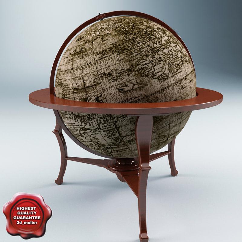 old globe 3ds