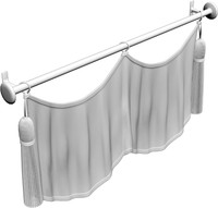 draperies 3d model
