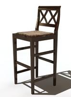 3d marchetti chair bar model