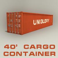 40 ft cargo container