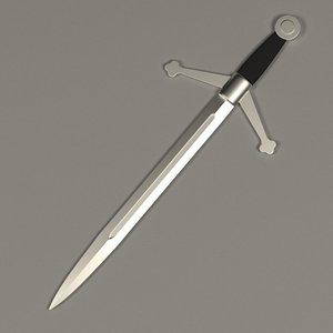 3ds max dagger