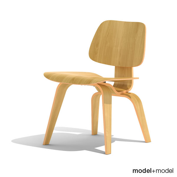 3ds max dining chair wood dcw