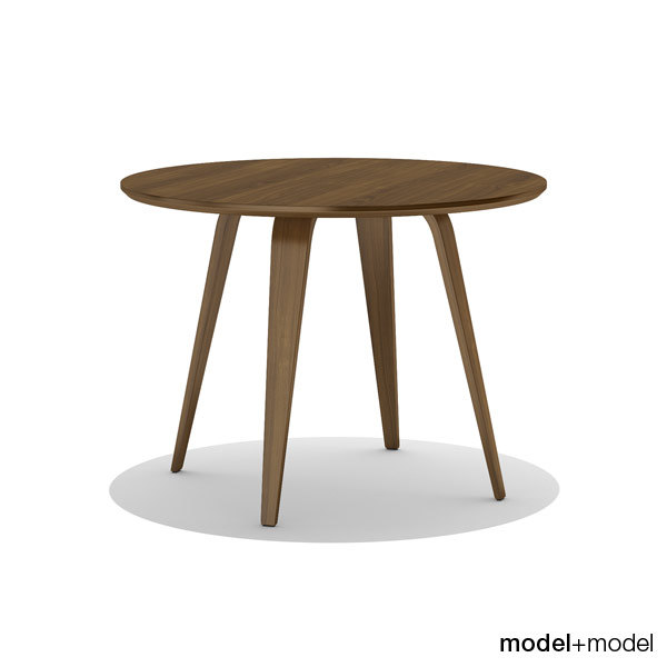 oval table cherner 3d x