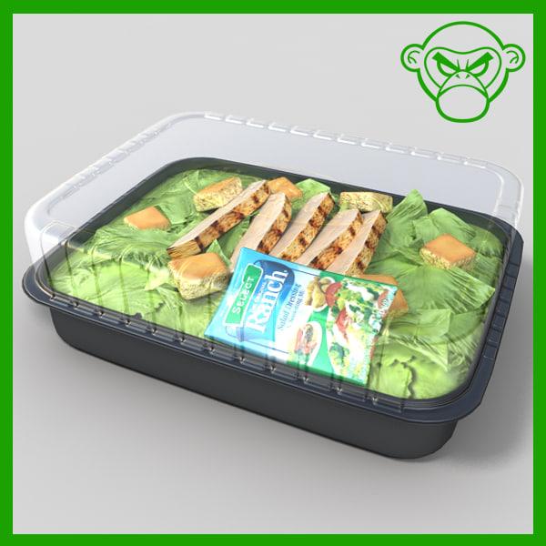 grilled chicken salad 3ds